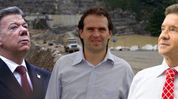 Federico Gutiérrez, alcalde de Medellín y Luis Pérez, gobernador de Antioquia enviaron una carta de advertencia al presidente Santos. (Archivo)
